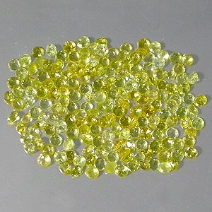 Natural 2.5mm Round cut Yellow Beryl gems stone Just $0.50 each