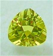 Natural 3mm Trilliant cut Yellow Beryl gems stone Just $3.00 each