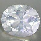 Natural 4.02 Ct. White Quartz Oval Cut VVS gem stone