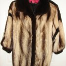 EXCEPTIONAL Antonovich Furs NY NY Natural Ranch Fitch Fur Jacket
