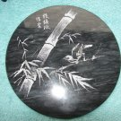 Black Onyx Signed Collectors Plate