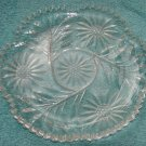 Fabulous Cut Glass Serving Dish