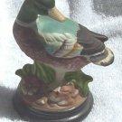 Bisque Mallard Figurine