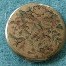 Vintage Compact w/Fabric Covering