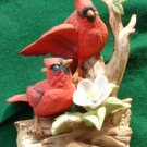 Ceramic Cardinals Figurine