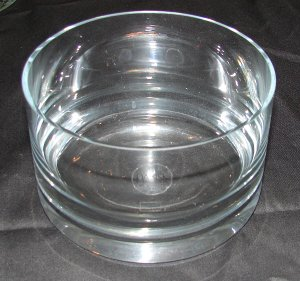 Dansk Glass Bowl