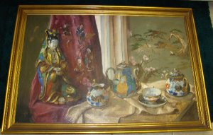 Zsuzanne Suger Still Life on Canvas
