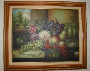 Van Hunt Still life on Canvas