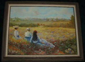M. Rothkopf - Landscape Painting on Canvas
