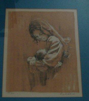 Frank Palmieri signed Portrait Print