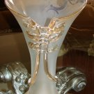 Frosted Glass Vase by Jon Lutz – Loetz  Signed