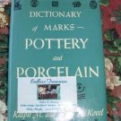Dictionary of Marks Pottery and Porcelain by Ralph and Terry H. Kovel