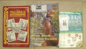 3 Books onCollectibles and Antiques
