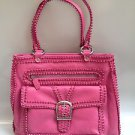ISABELLA FIORE Pink Leather Shoulder Bag