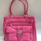 ISABELLA FIORE Pink Leather Shoulder Bag