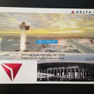 Delta Airlines JFK Airport T4 NEW TERMINAL Opening Postcard ~ NEW & RARE!
