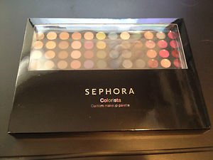 Sephora Colorista Custom Makeup Palette w/travel Palette NEW!