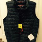 Hawke & Co Men's Heather Gray Packable Down Vest M NWT