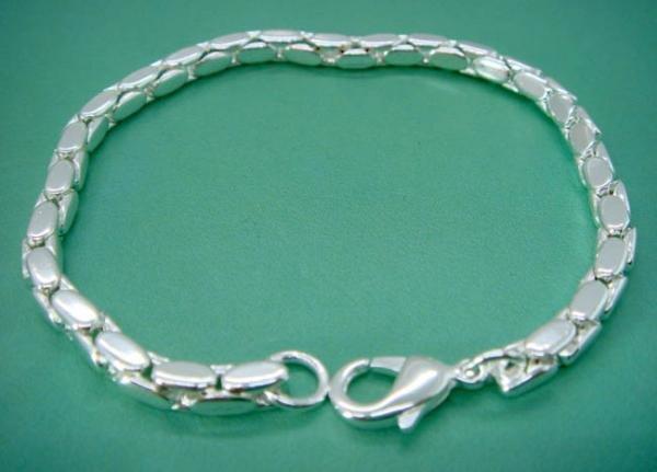 FREE P&P! 925 STERLING SILVER ELEGANT Bracelet#169