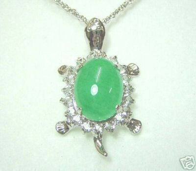 Beautiful tibet jade turtle pendant necklaces