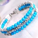 beautiful Tibet Silver Turquoise Bracelet