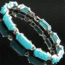 Tibet Silver turquoise bracelet