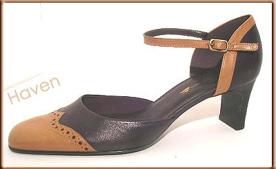 Easy Spirit Brown Oxford Style Pumps  Sz 10