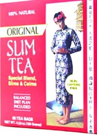 Hobe' Labs Slim Tea - Original - Oolong (Wu Long)  Diet Tea