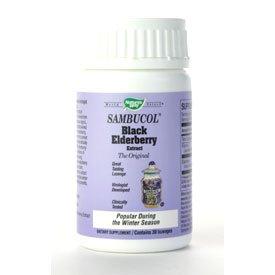 Sambucol-Black Elderberry Lozenges from Nature's Way - 30 lozenges
