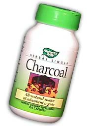Charcoal-Activated from Nature's Way - 280Mg 100 capsules