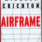 Michael Crichton Airframe HB with DJ NEW