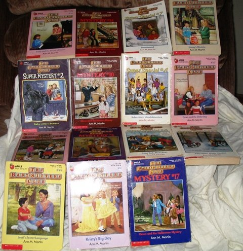 Lot of 15 Babysitters Club PB Books