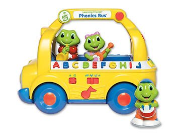 leap frog learning friend phonics bus