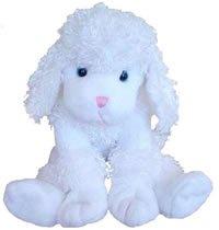 "15"" white poodle"