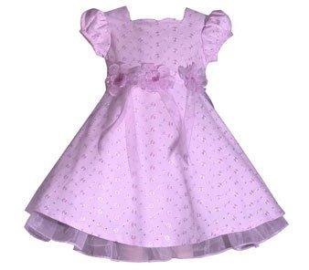 Bonnie Jean Lavender Eyelet Easter Dress