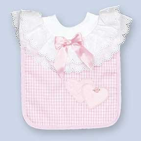 "Personalized Fancy ""All Dressed Up"" Bib"