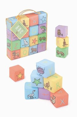ABC Soft Blocks by Jack Rabbit Creations