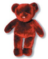 "15"" Red Sparkle Bear"