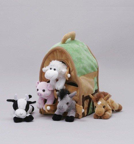 Plush animal house