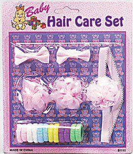 16 Pc Baby Hair Care Set