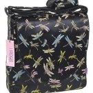 IFD03 - Black Dragonfly - 'I Frogee' Boxy Diaper Bags