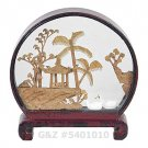 5401010 - Mini Garden View - Chinese Cork Art