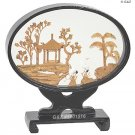 5601516 - Oval Garden View - Chinese Cork Sculptures