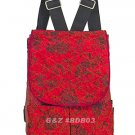 BDB03 - Red Mini Backpack Bag - 'Little Lady'