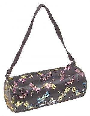 SHB1 - Black Cylinder Shoulder Bag (Cosmetic Bag)
