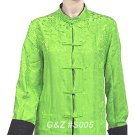 S005 - Green - Reversible Silk Jacket