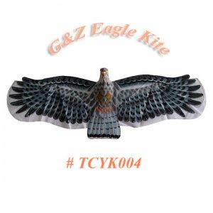 TCYK004-1 BLACK 3D Eagle Kite(Medium) - Chinese Silk Kites