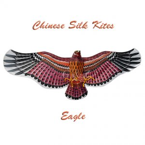 3D Extra Large Silk Eagle Kite - 2 - Chinese Silk Kites