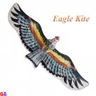 3D Small Silk Eagle Kite - Black (TC-E02)