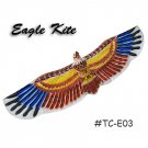 TC-E03 Large 3D Silk Eagle Kite - Brown